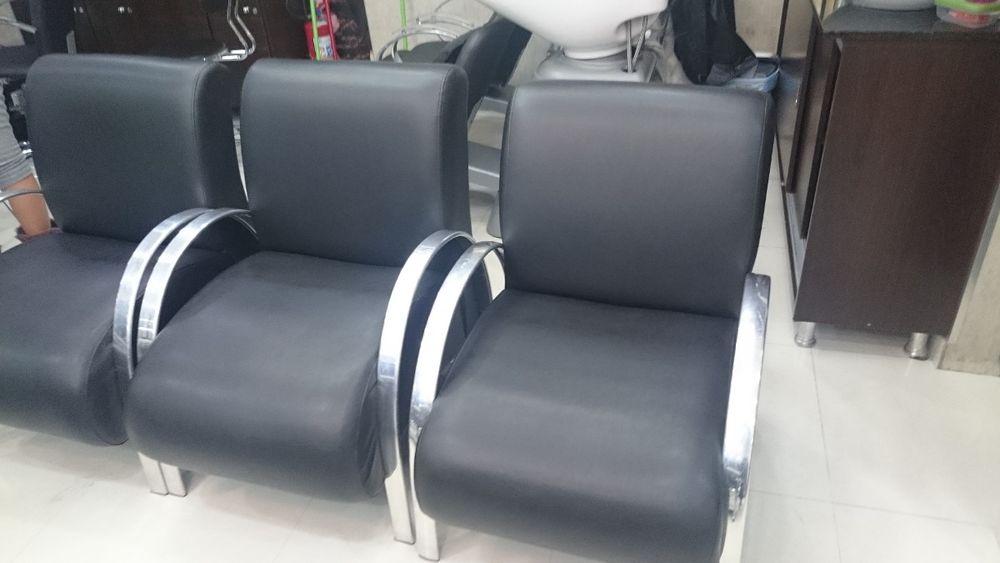cadeira de espera para salao de beleza e barbearia