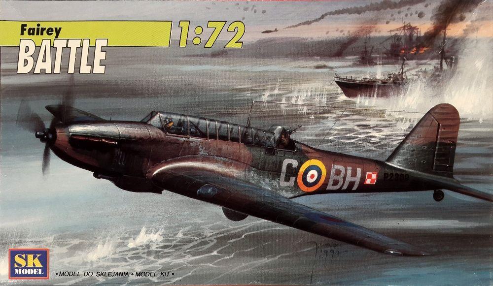 Macheta avion Fairey Battle - SK Model 0194-001, scara 1:72