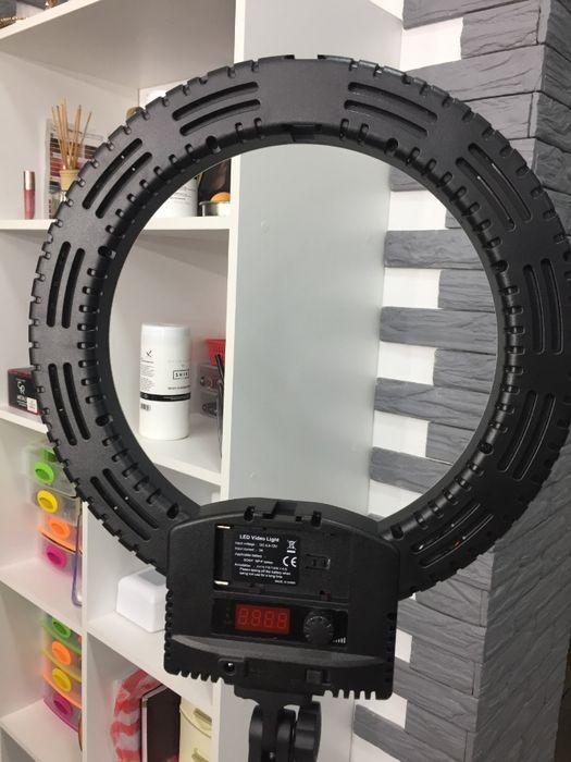Кольцевая лампа 240 LED визажиста,косметолога,фотографа