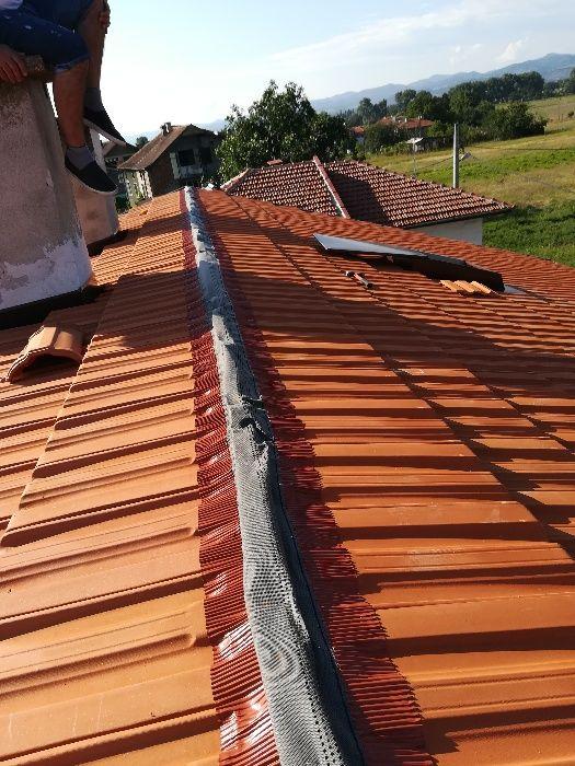 Ремонт и изграждане на покриви Горубляне