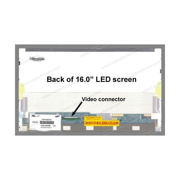 display laptop -  model ltn160at03-002 , 16-inch , 1366x768 hd, led 5