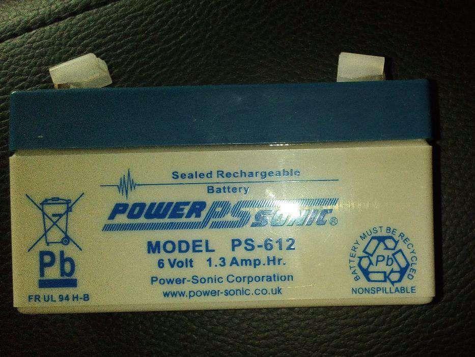 Acumulator Powersonic PS-612 - 6 Volt /1.4 Amp ora