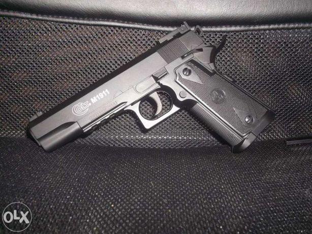 Pistol ULTRA PUTERNIC (3,8 Juli)Colt 1911 Airsoft cu AER COMPRIMAT Co2