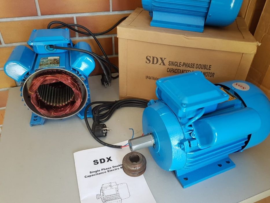 Motor Monofazat 2,2 KW 3000 Rpm NOU - Livrare Gratuita - Garantie 12 l