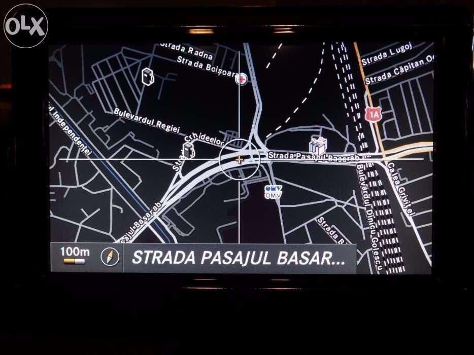 Harti Navigatie Mercedes NTG CD DVD Navigatie GPS harta Romania 2018