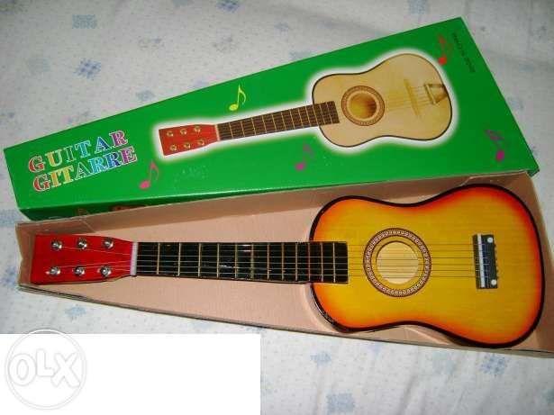 Chitara mica acustica pentru copii- produs nou Bucuresti - imagine 7