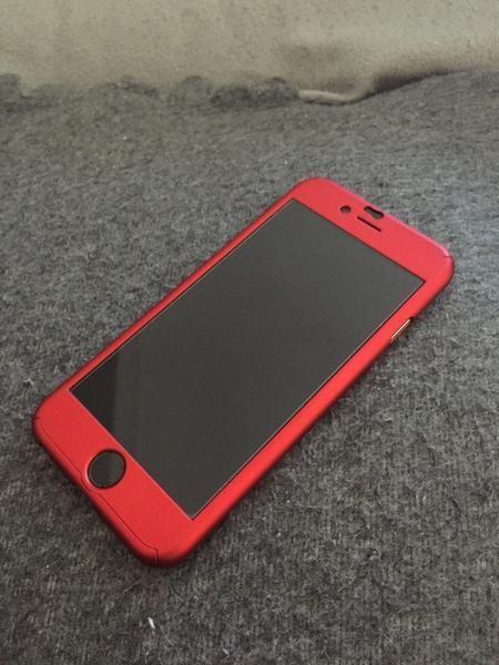 Husa ROSIE 360 GRADE FATA- SPATE iPhone 6PLUS (Folie de sticla GRATIS)