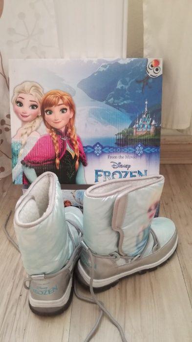 Cizme de zapada imblanite Frozen