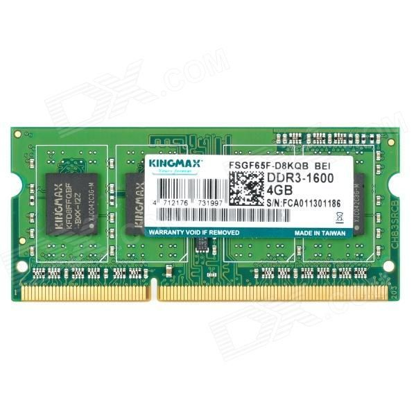 Memorie laptop Kingmax 4 GB DDR3 1Rx8 PC3L-12800s-11-12B3 - nou