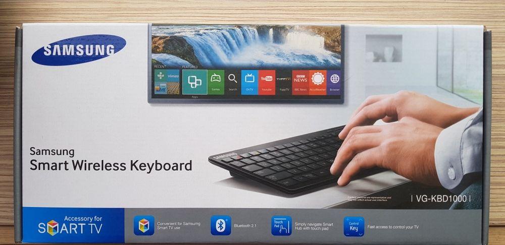 Неразпечатана!Smart wireless keyboard Samsung Безжична 2в1 клавиатура.