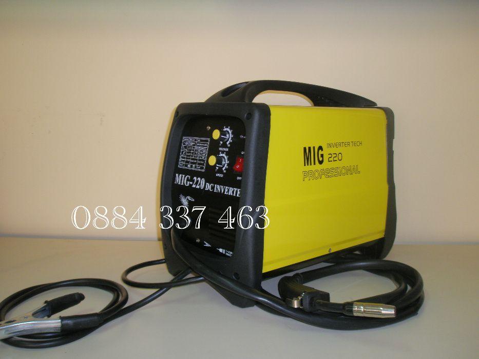 Инверторен телоподаващ апарат MIG/CO2 220 A 350