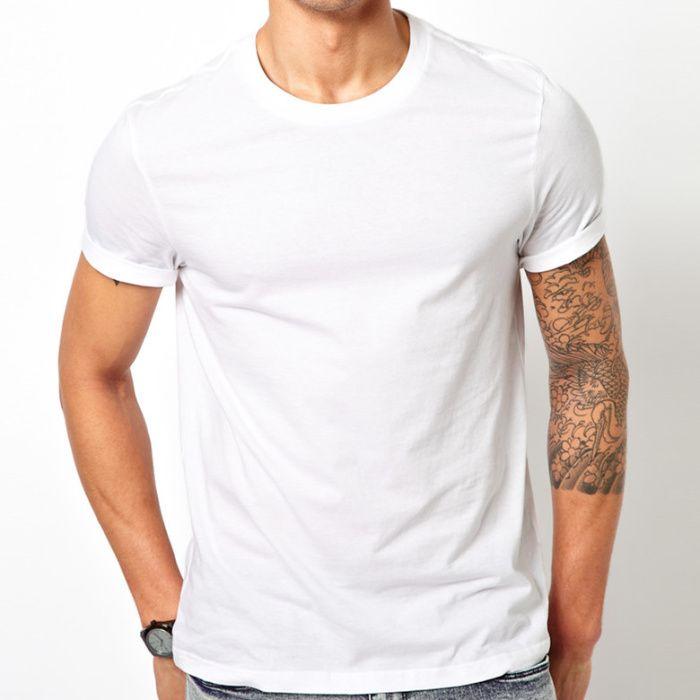 T-shirt branca