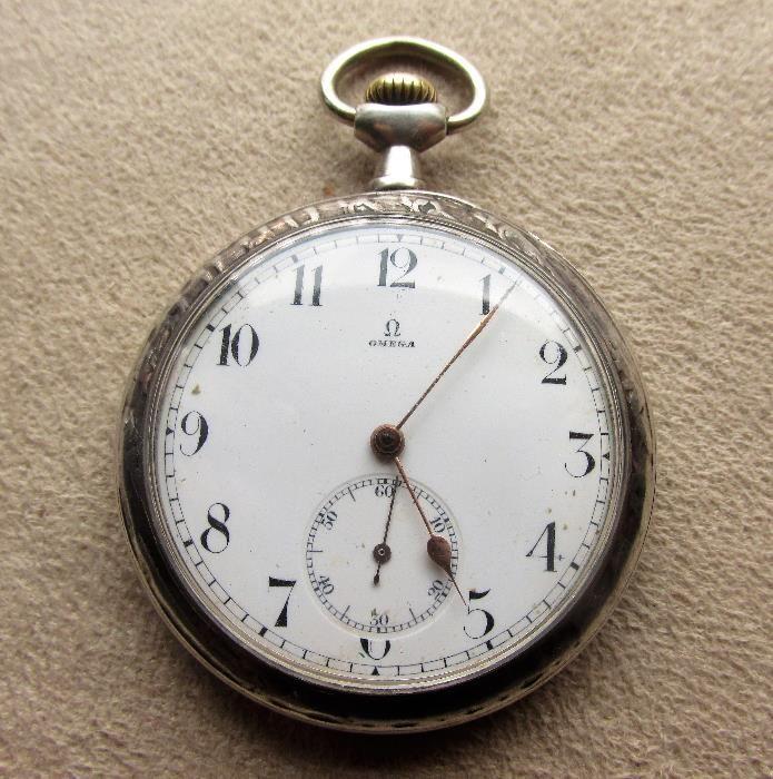 Стар джобен часовник OMEGA