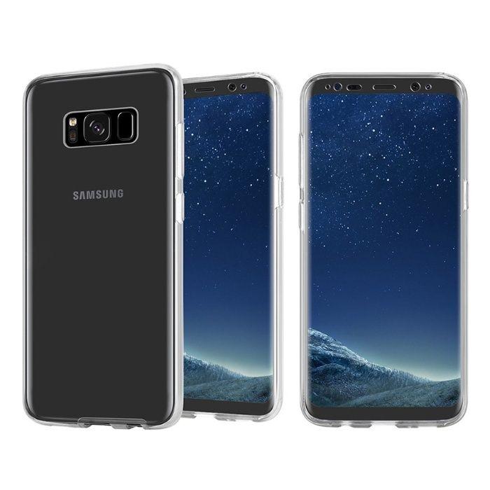 Husa 360 Slim Fata si Spate Transparenta Samsung Note 8 S8 S8+ S9 S9+