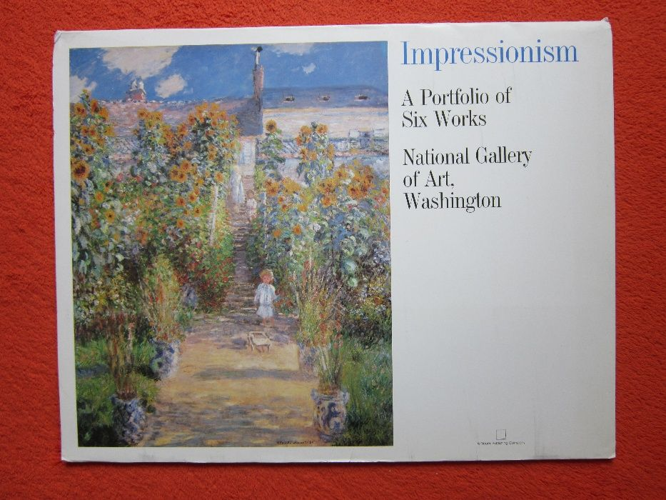 Impressionism-postere vintage-National Gallery of Art,USA-cadou inedit