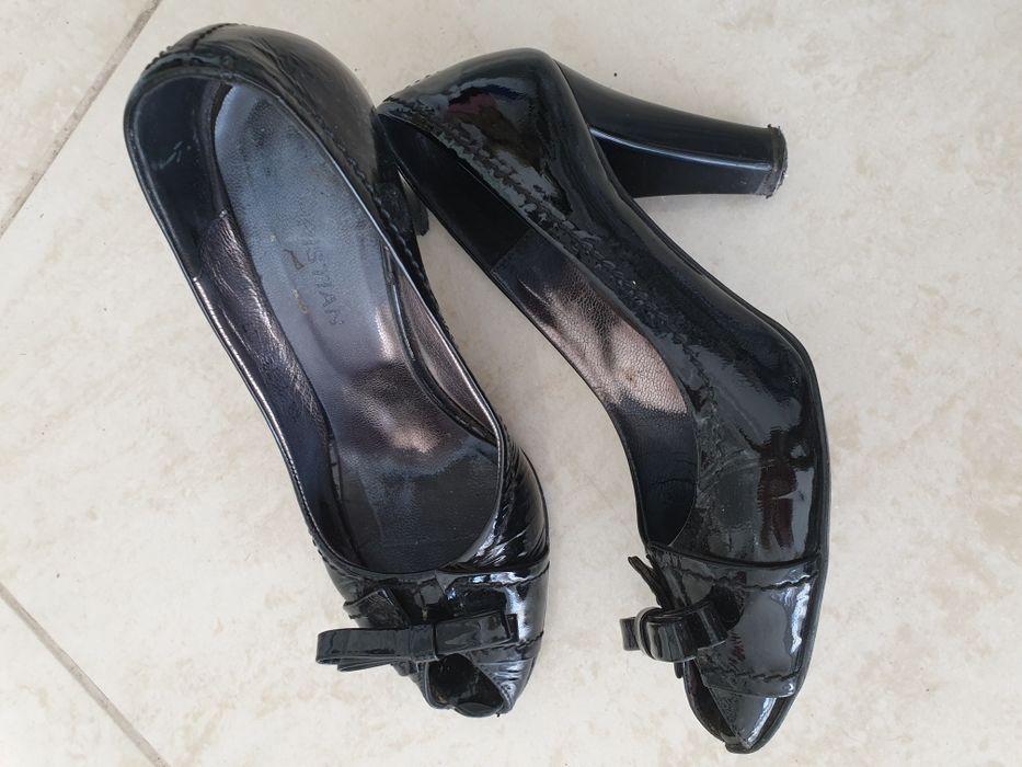 Черни сандали. Сандали Donna Italiana.Обувки Massimo ZardiЧерни обувки