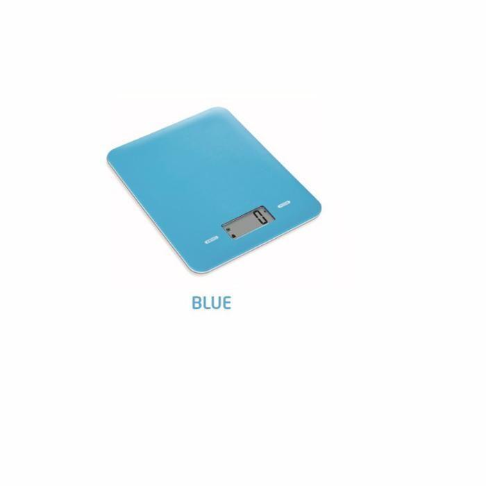 Cantar de bucatarie ICA (Albastru) 5 kg Super Slim