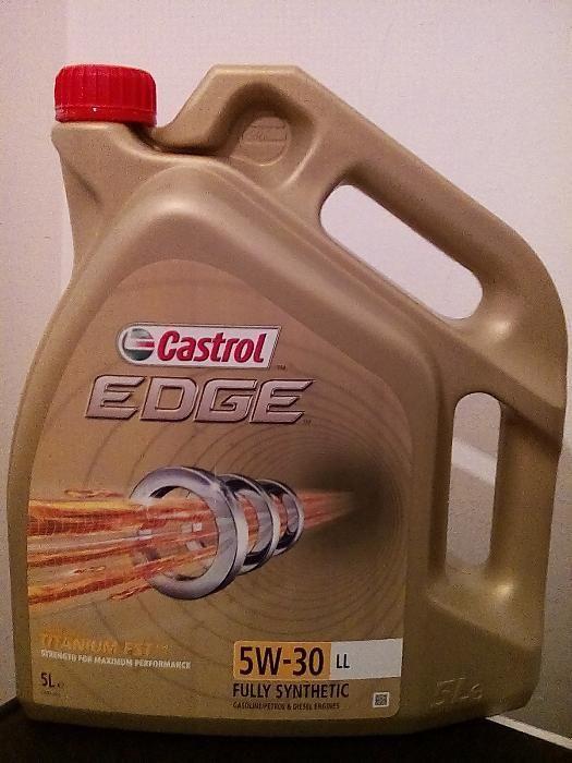 Висококачествено двигателно масло Castrol Edge 0w30; 5w30; 5w40; 10w60