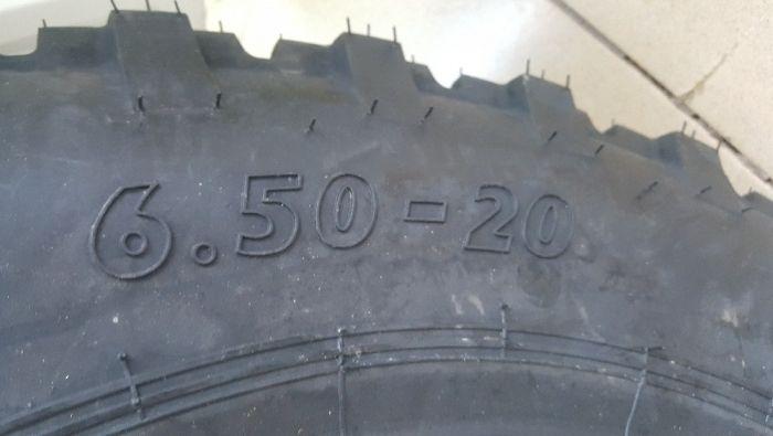 Cauciucuri 6.50-20 anvelope noi de romanesc avem si de spate U650 Tasnad - imagine 3