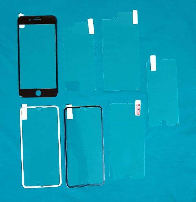 Folii sticla iPhone X, 8, 7, 6, 5 - diverse modele