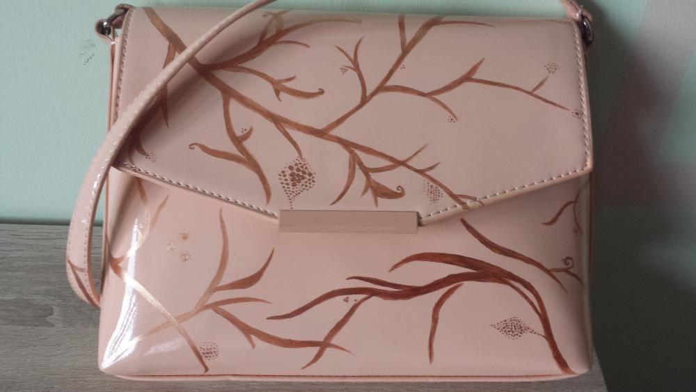 Нова ръчно рисувана чанта ZARA