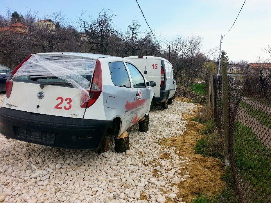 Fiat Punto и Doblo 1.3 multijet на части