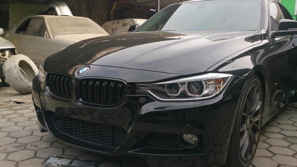 Grile BMW F30 F31 M3 M4 look - finisaj negru mat Timisoara - imagine 2