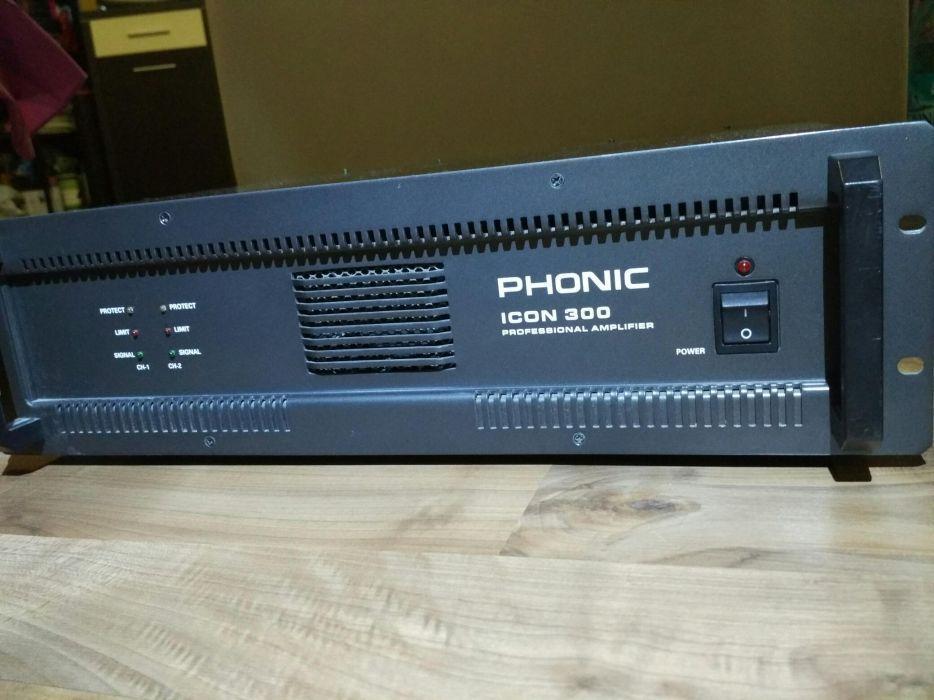Schimb / vand Amplificator 150x2 W rms Phonic amplificator profesional