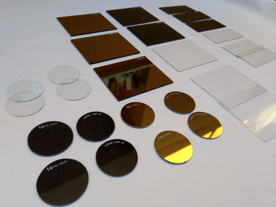 Стъкла заваръчни предпазни и защитни.Златни заваръчни стъкла