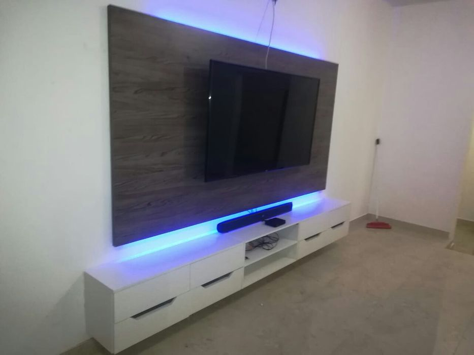 Rack de tv por encomenda
