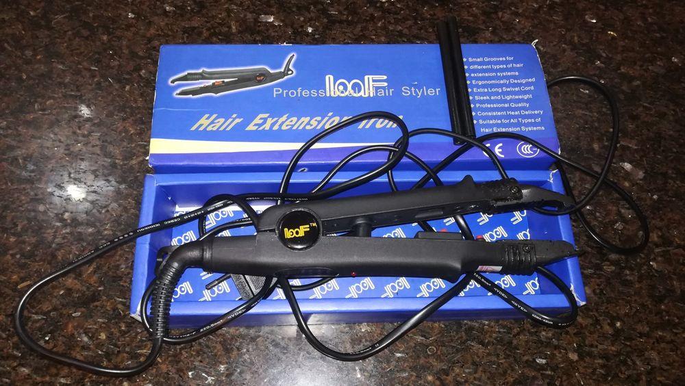Máquina para colocar cabelos extensões com cola Queratina