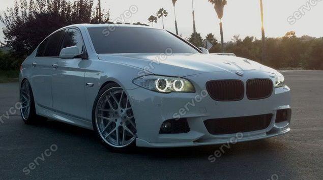 Prelungire difuzor bara fata lip BMW F10 F11 Hamann bara pachet M tech