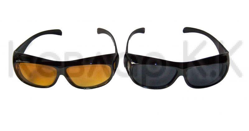 Комплект очила за шофиране HD Vision, Wayne NJ-07470, дневни и нощни