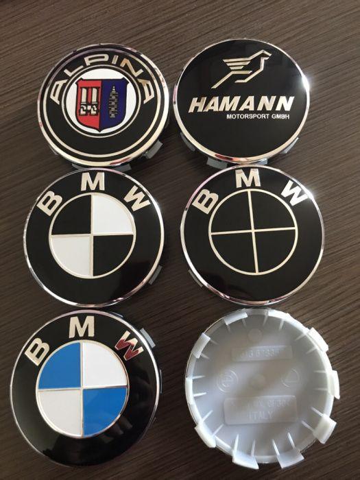 OEM Капачки За Джанти BMW / БМВ Черни Hamann Alpina E36/39/46/60/90