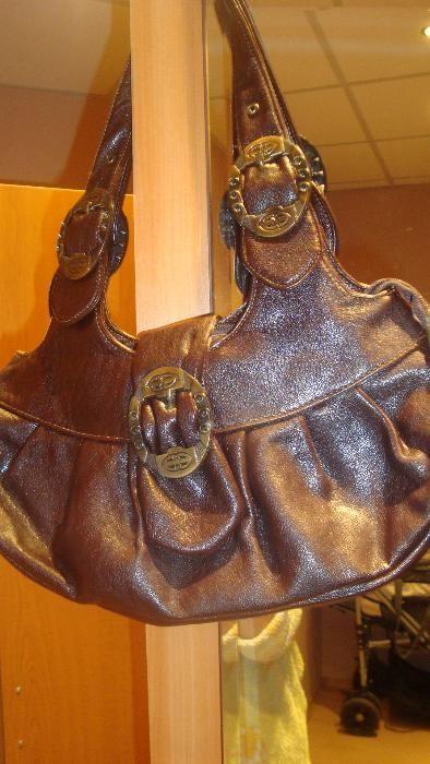 дамска чанта, естествена кожа