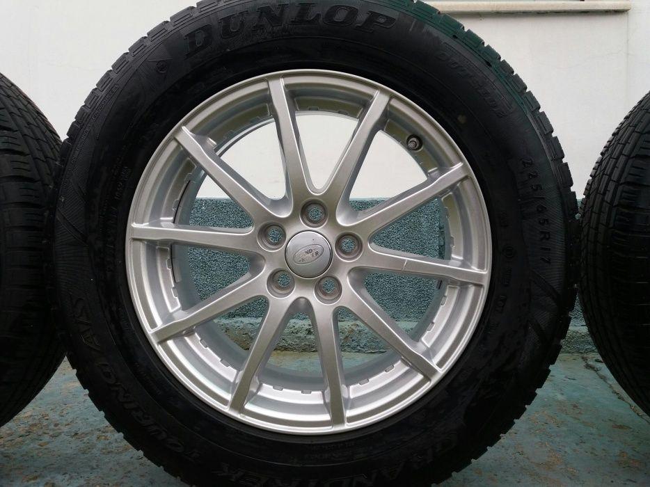 Оригинални джанти за Land Rover 5/108 17 цола с гуми 225/65/17 датчици