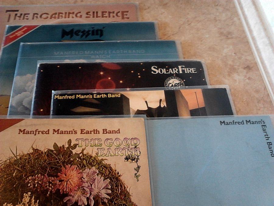 Виниловые пластинки - Manfred Mann's Earth Band