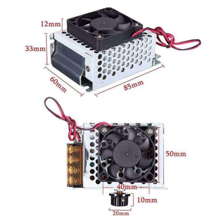 Variator tensiune regulator turatie motor curent alternativ 4000w 220V