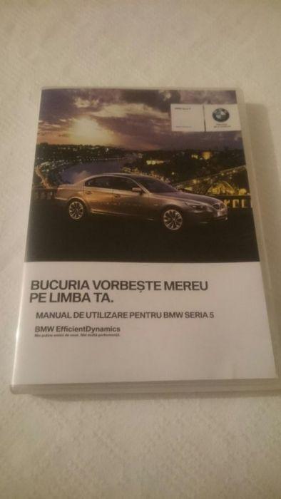 CD Manual de utilizare BMW Seria 5 E60/61 română