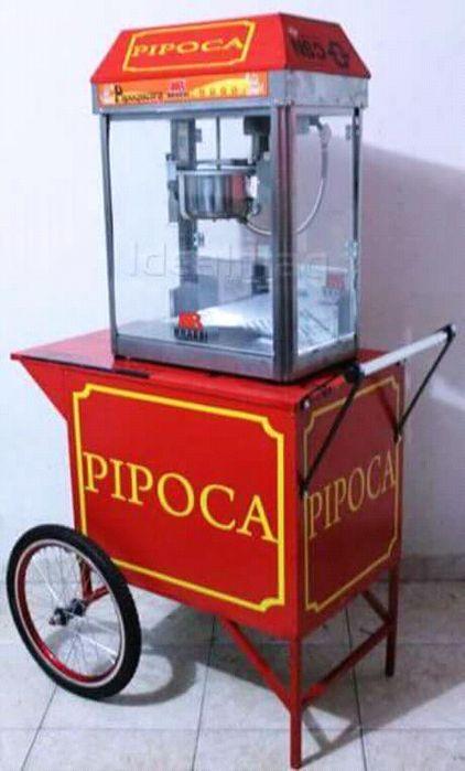 Maquina de pipoca disponivel