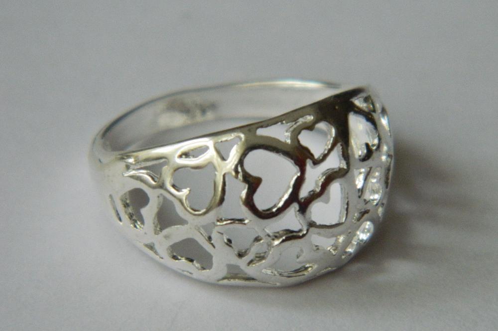 S62,inel argint 925, nou/marcat, masiv, deosebit,lat