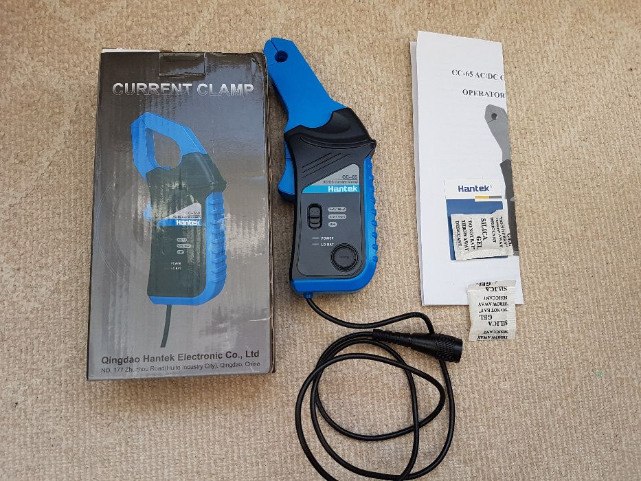 Cleste de curent osciloscop CC65 Hantek CC-65 AC/DC cu conector BNC