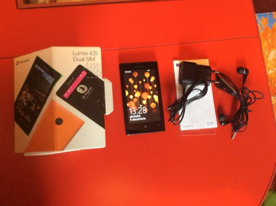 Microsoft lumia 435,codat orange,aproape nou,dualsim,fullbox