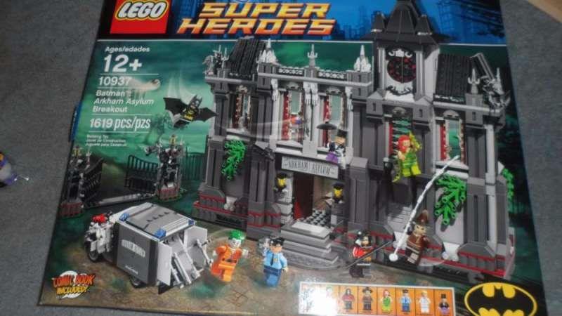 Ново Лего 10937 - Lego Batman: Arkham Asylum Breakout - рядък комплект