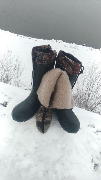 Украински Ботуши Крок за Лов и Риболов с Термо Чорапи