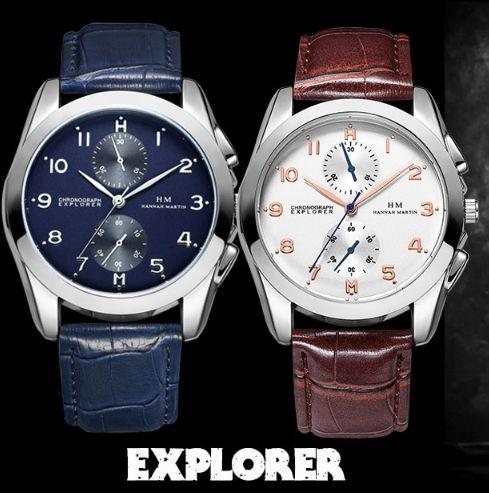 Vendo relógio de homem da marca HM Hannah Martin Explorer