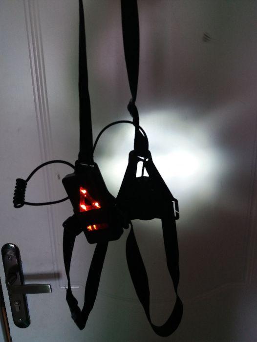 luzes reflectoras de ciclista