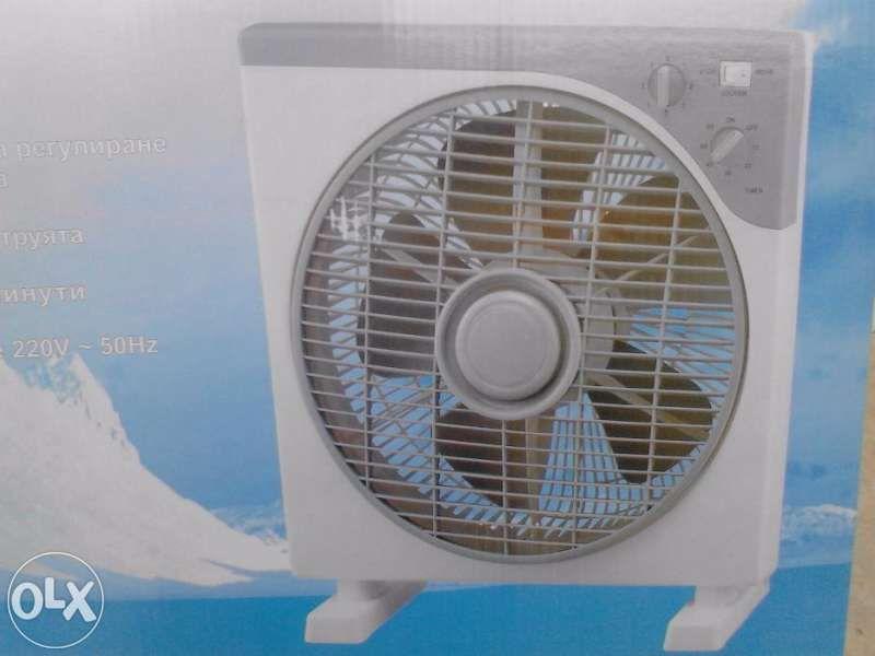 Вентилатор на стойка и вентилатор бокс - 28лв