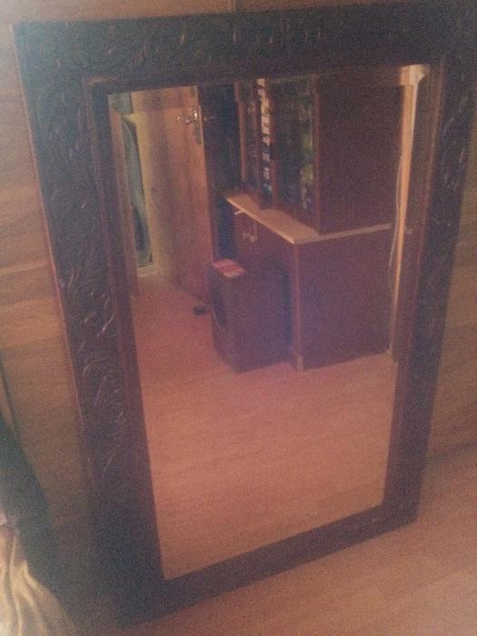 Oglinda de Cristal veche de peste 150 de ani