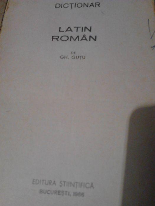 dicționar latin - roman, 1966 Iasi - imagine 3